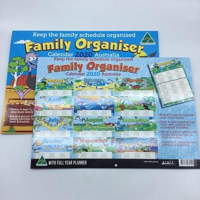 2020 Calendar Organiser