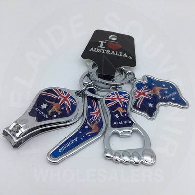 Keyring Pack 4pc