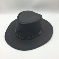Oily Cowhide Hat