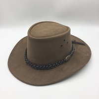Sueded Cowhide Hat