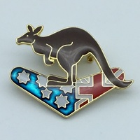 Kangaroo Boomerang Flag